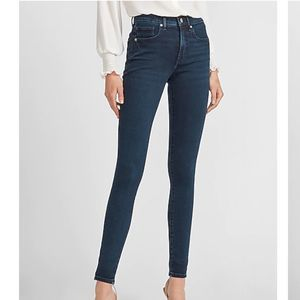 EXPRESS Mid Rise Skinny Jeans 4L